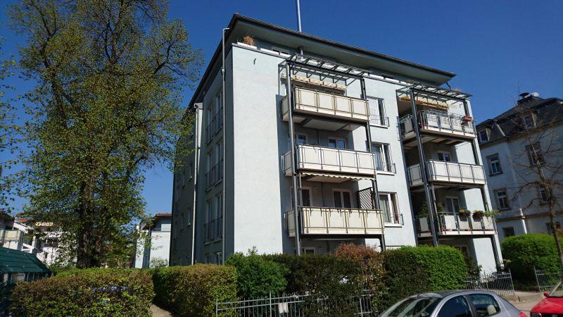 MW/3284, 3 - Raumwohnung mit Terrasse in Striesen
